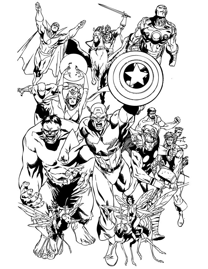avengers for coloring avengers coloring pages free download on clipartmag for avengers coloring 1 1