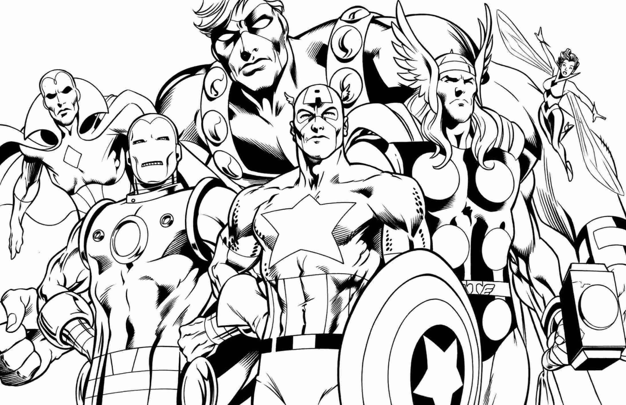avengers for coloring printable avengers coloring pages kids adults pdf coloring for avengers