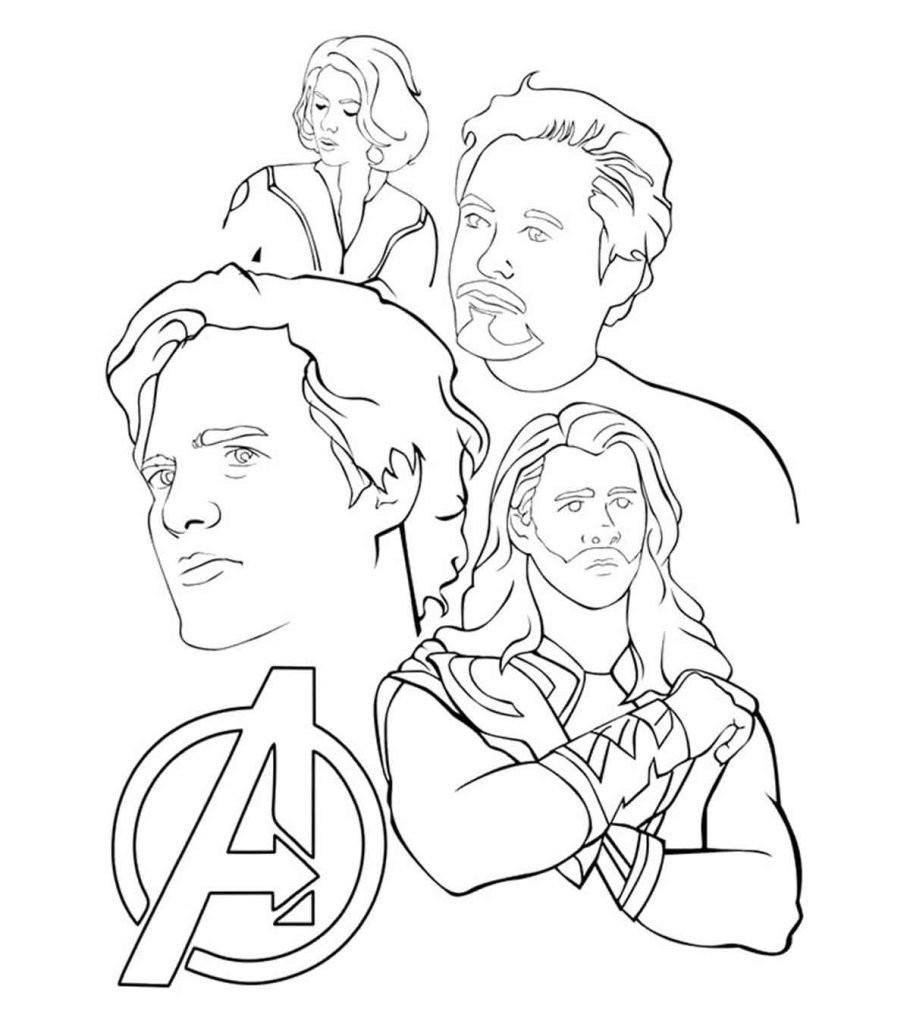 avengers for coloring the avengers team assemble coloring page the avengers coloring for avengers