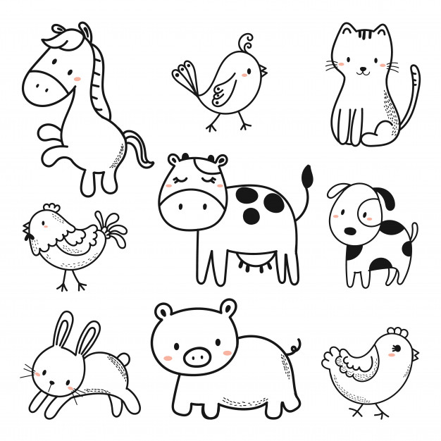 baby animal outlines baby duck toy outline free animals icons baby animal outlines