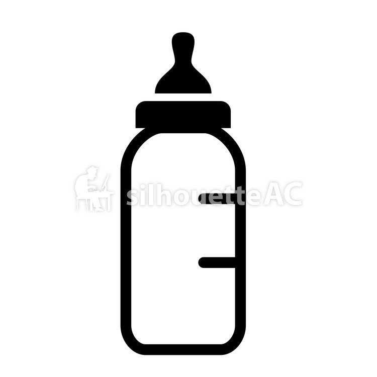 baby bottle silhouette svg drink hungry nutrition dairy free svg image icon silhouette baby bottle