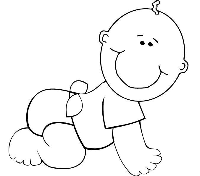 baby coloring sheets baby coloring pages free download on clipartmag sheets baby coloring