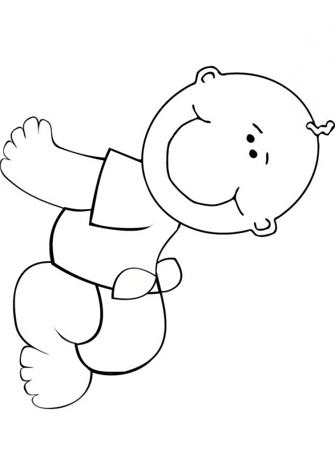 baby coloring sheets free printable baby coloring pages for kids sheets coloring baby