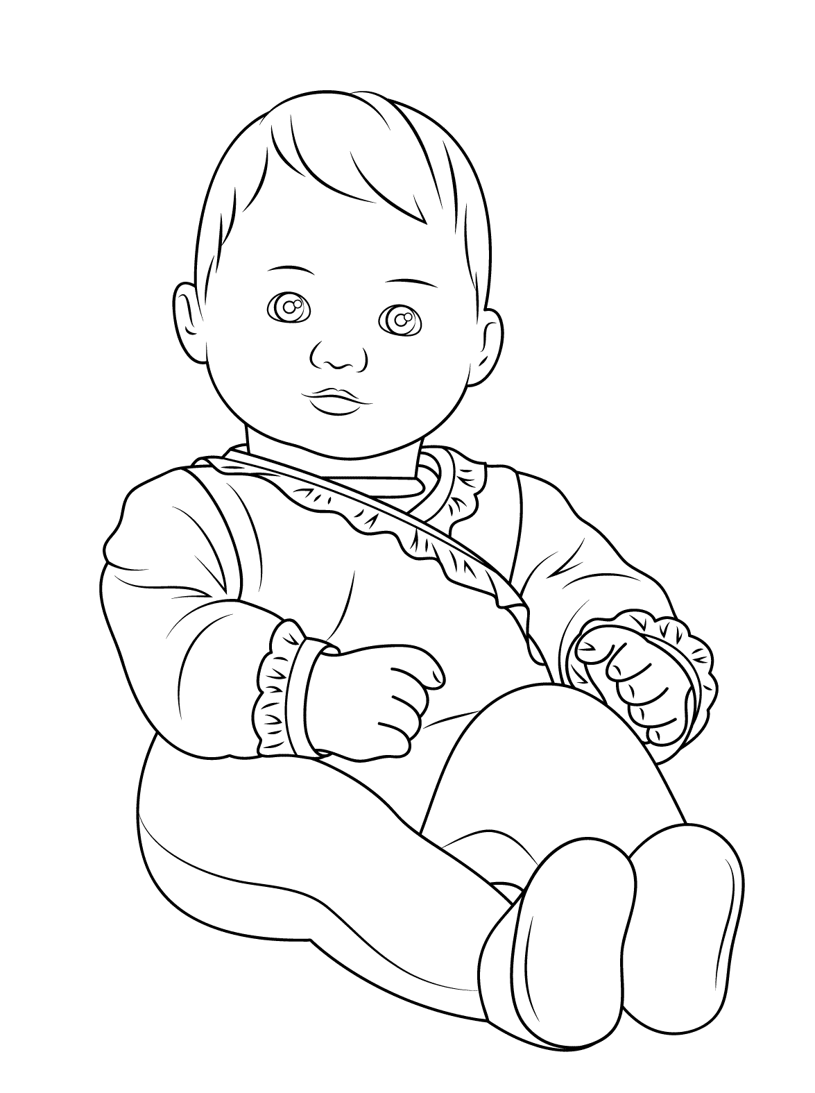 baby doll coloring pages american girl coloring pages best coloring pages for kids pages coloring baby doll