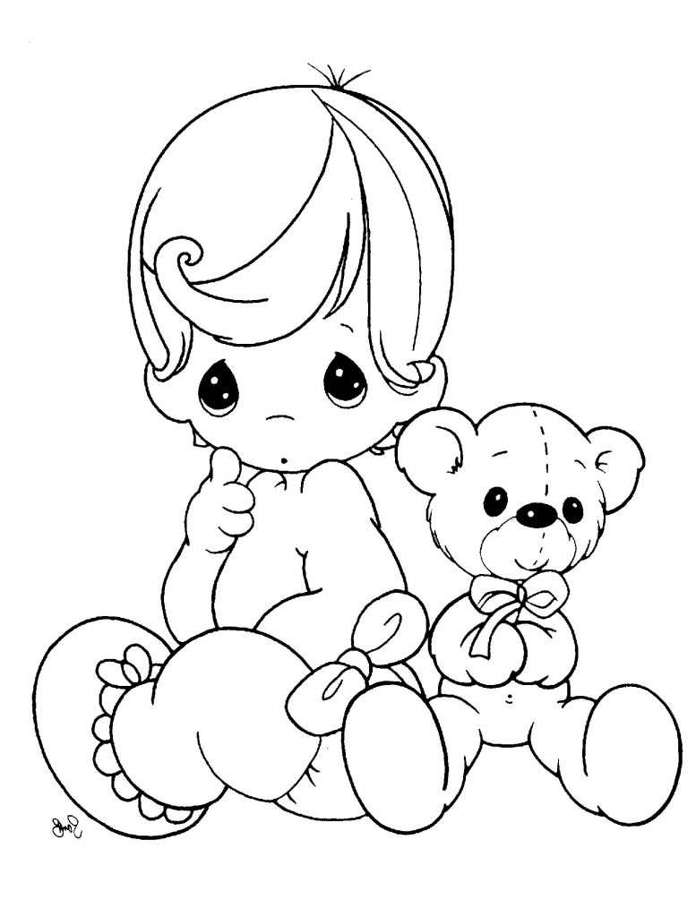 baby doll coloring pages baby doll coloring page at getcoloringscom free doll baby pages coloring