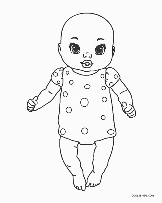 baby doll coloring pages free printable baby coloring pages for kids coloring doll pages baby