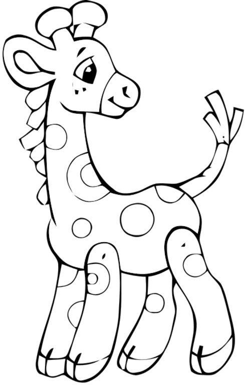 baby giraffe pictures to color cute baby giraffe drawing free download on clipartmag color to giraffe baby pictures