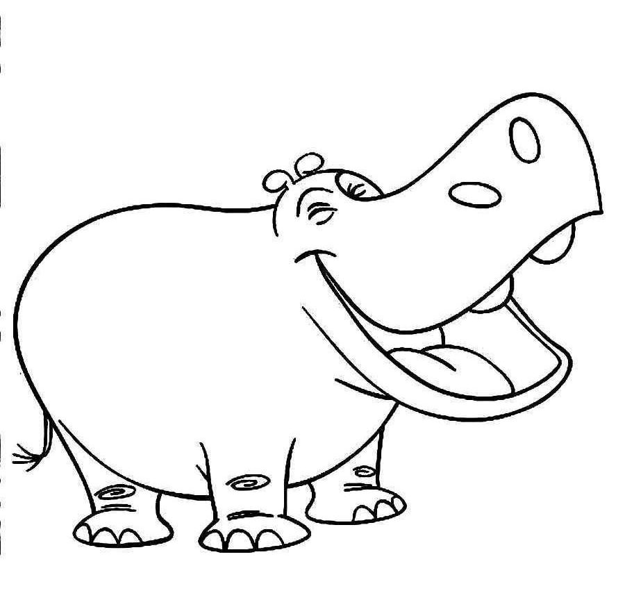 baby hippo coloring pages cute baby hippo coloring page free printable coloring pages coloring pages hippo baby