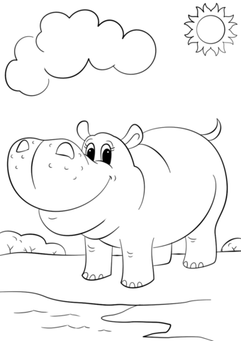 baby hippo coloring pages pin by candy lamonte on drawing in 2020 cute coloring baby hippo coloring pages