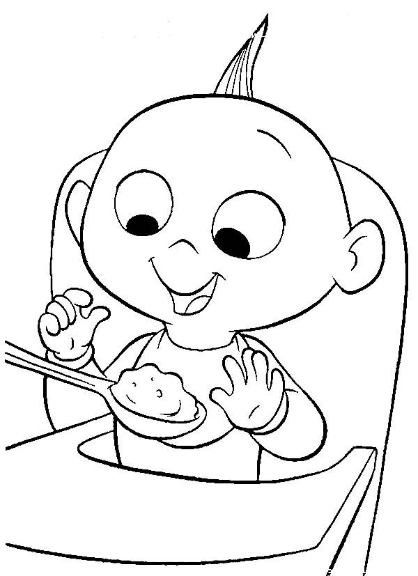 baby jack jack coloring page jack jack the cutest baby coloring page free printable baby jack jack coloring page