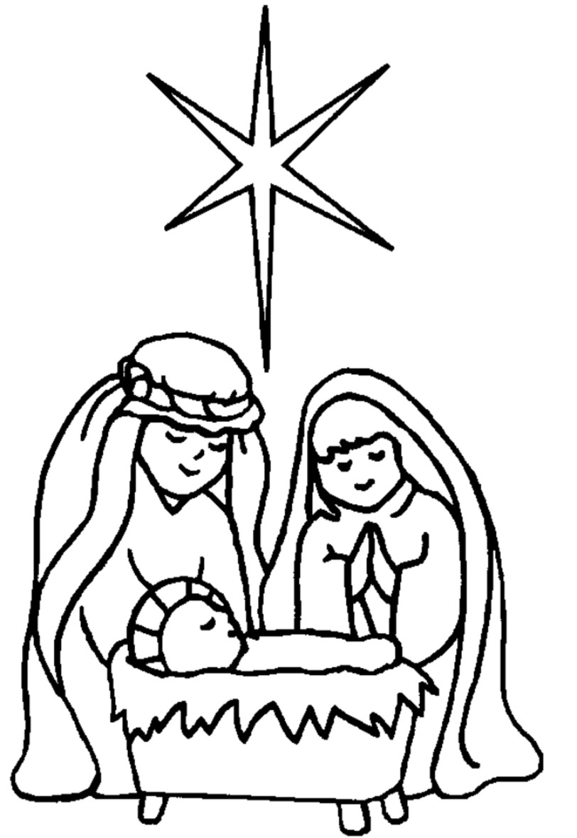 baby jesus in a manger coloring pages picture of baby jesus in a manger free download clip art a coloring baby in manger pages jesus