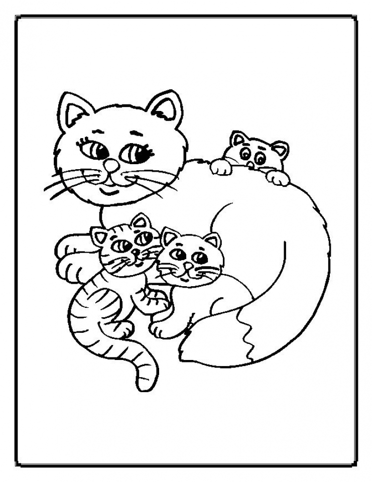 baby kitten coloring cute baby cats coloring pages animal pictures coloring kitten baby
