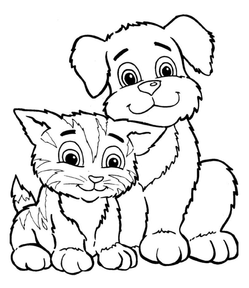 baby kitten coloring free coloring pages of cats and kittens at getdrawings coloring kitten baby