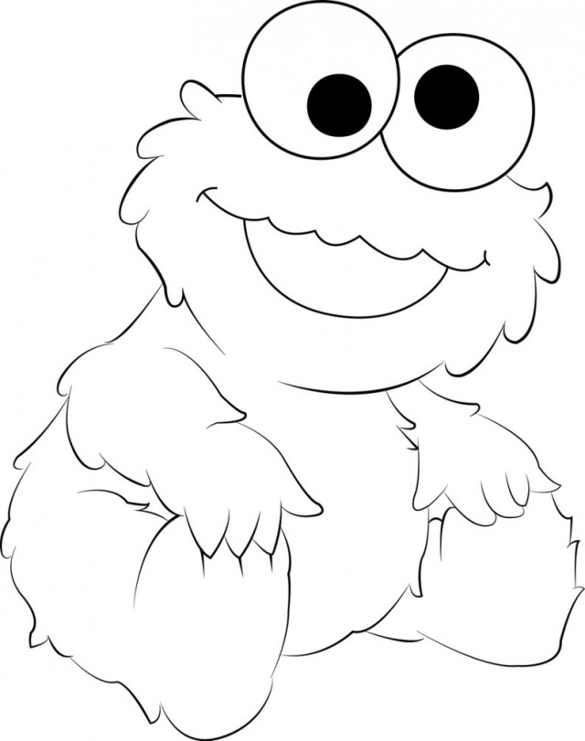 baby monster coloring pages cookie monster coloring pages to download and print for free coloring monster baby pages