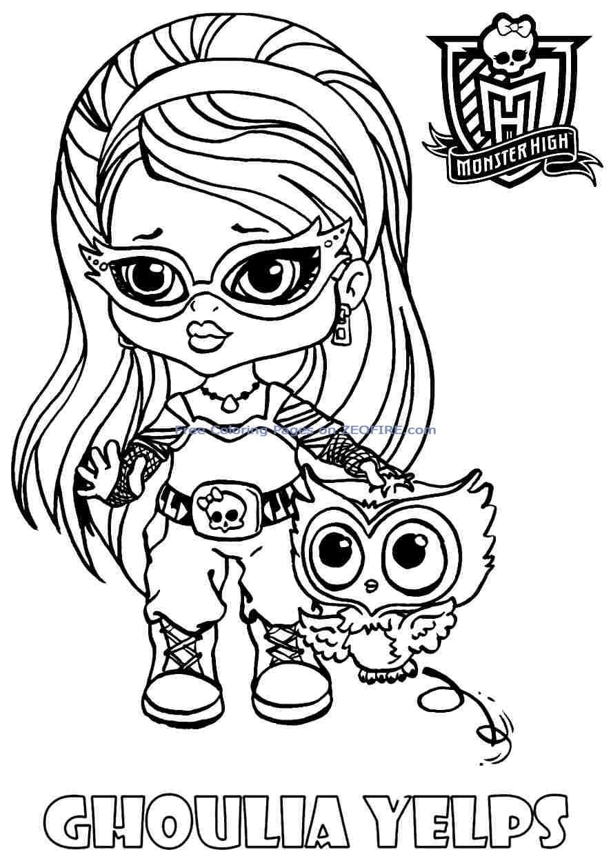 baby monster coloring pages free baby monster high coloring pages coloring home pages baby coloring monster