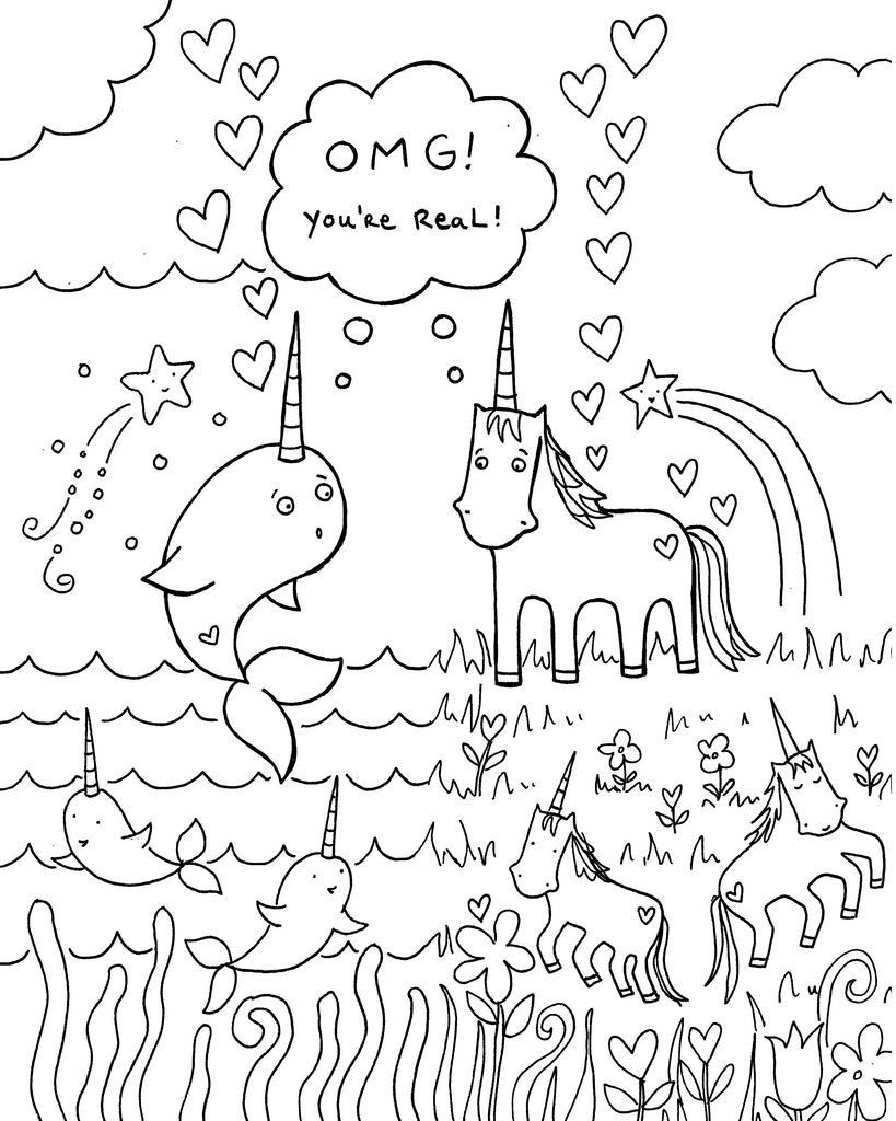 baby narwhal coloring pages soulmuseumblog cute baby narwhal coloring pages pages coloring baby narwhal