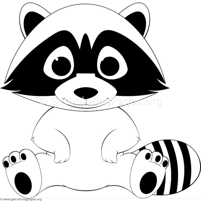 baby raccoon coloring page baby raccoon laugh coloring page page coloring raccoon baby