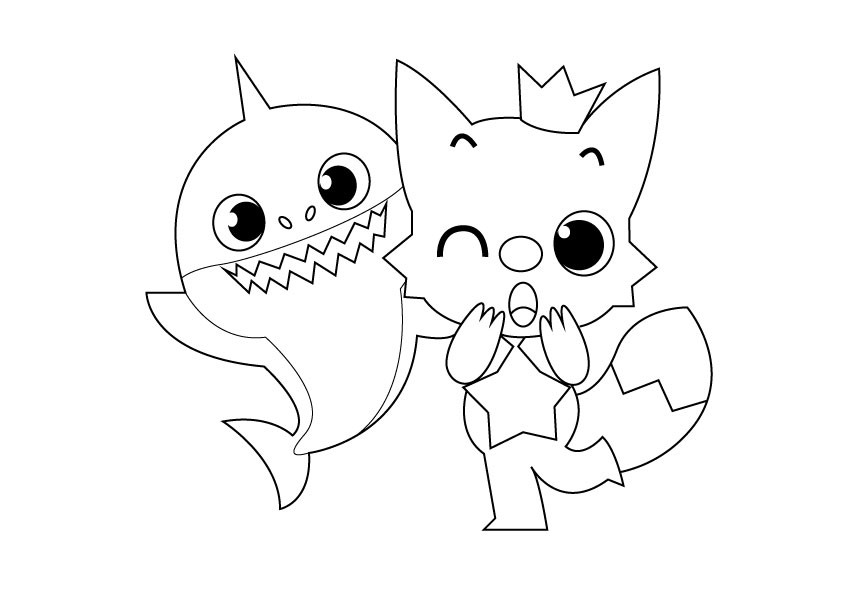 baby shark coloring pages get this baby shark coloring pages 31672 pages baby coloring shark