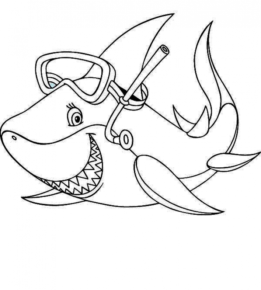 baby shark coloring pages pinkfong baby shark my first big book of coloring book pages shark coloring baby