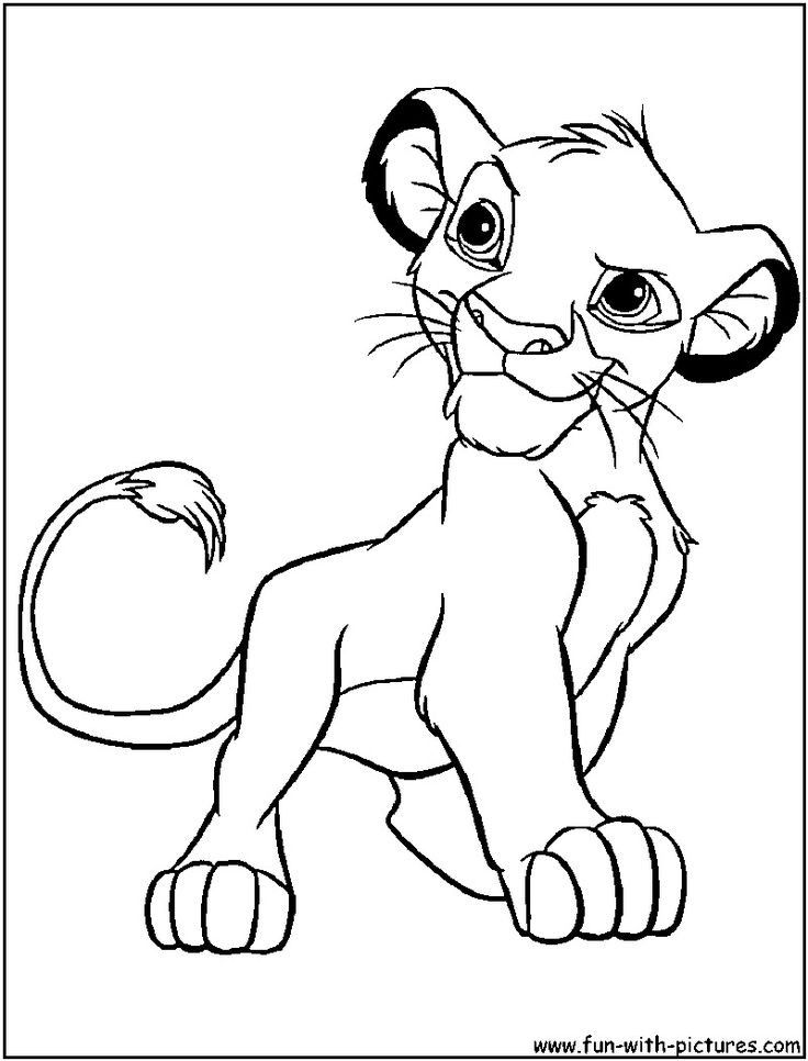 baby simba coloring pages baby simba coloring pages at getcoloringscom free simba baby coloring pages