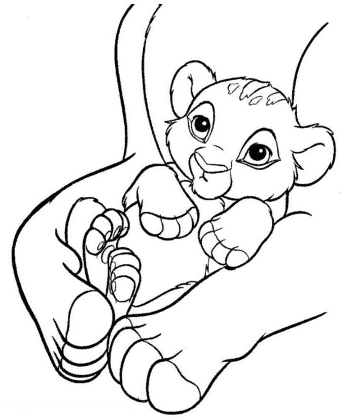 baby simba coloring pages fun and cute coloring pages coloring home simba pages coloring baby