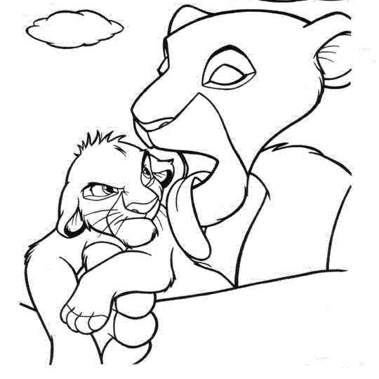 baby simba coloring pages the lion king printable coloring pages 2 disney coloring coloring pages baby simba