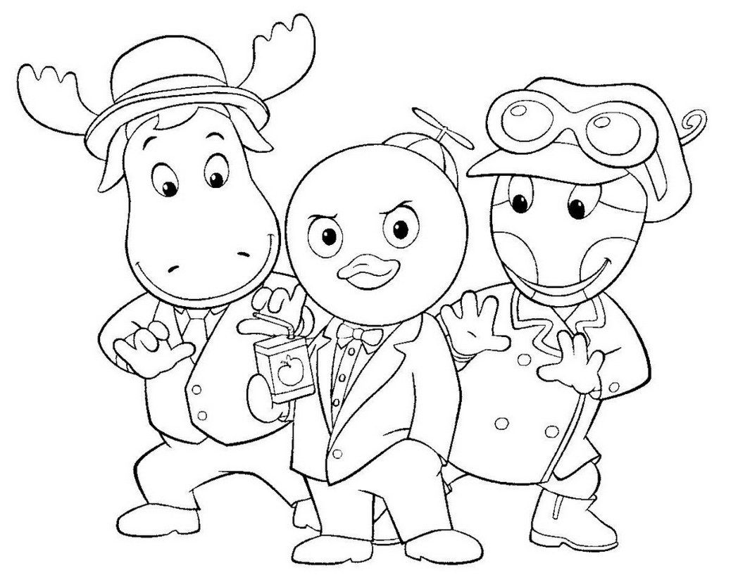 backyardigans coloring pages austin say its ok in the backyardigans coloring page pages backyardigans coloring