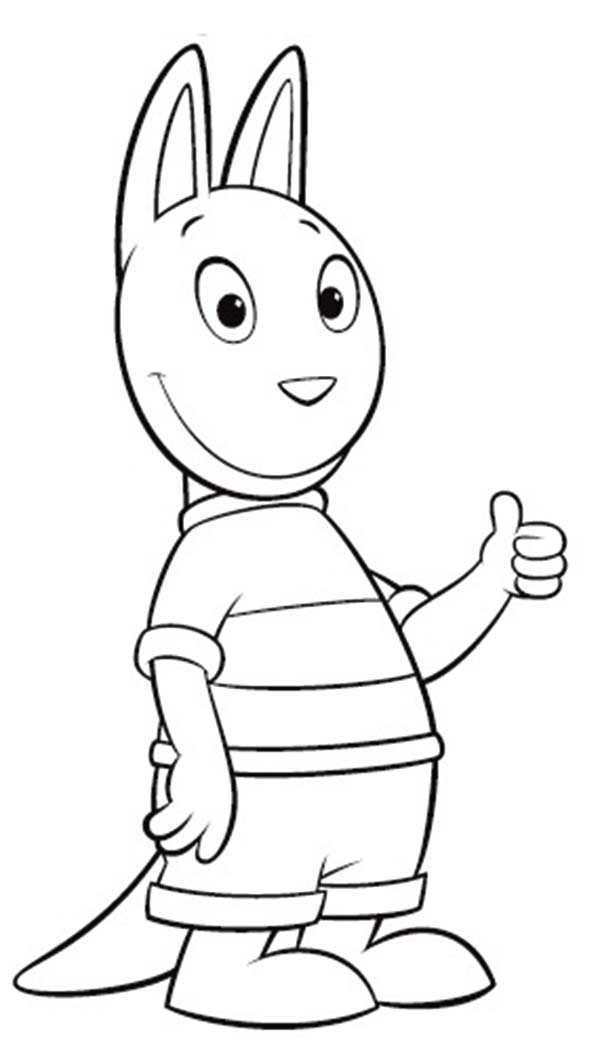 backyardigans coloring pages backyardigans coloring pages at getcoloringscom free coloring backyardigans pages
