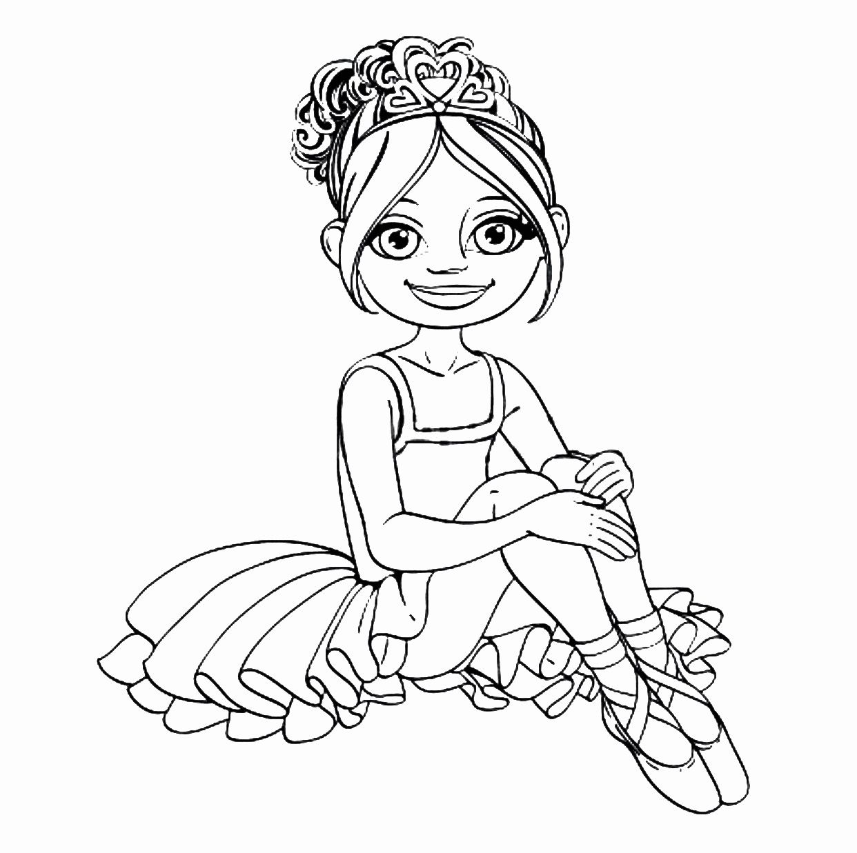 ballerina coloring book pages ballet coloring pages kidsuki pages book coloring ballerina