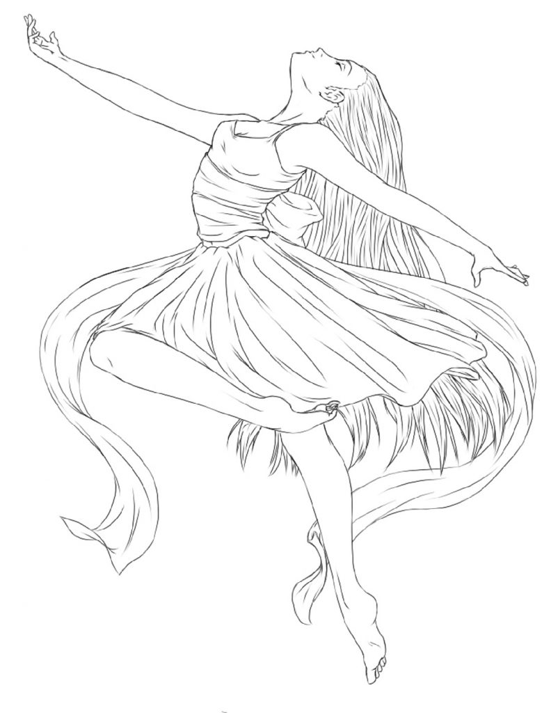 ballerina coloring book pages ballet positions coloring pages printable ballerina coloring ballerina pages book