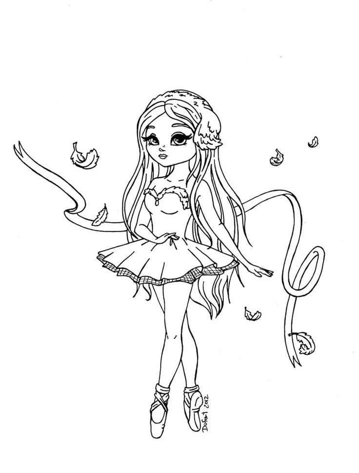 ballerina to color angelina ballerina clipart at getdrawings free download to color ballerina