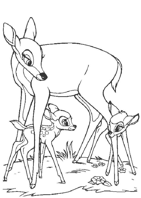 bambi and faline coloring pages bambi and faline by hanyu kyo on deviantart faline pages coloring bambi and