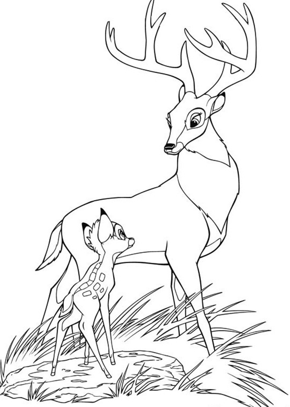 bambi coloring pages bambi coloring pages to download and print for free pages coloring bambi