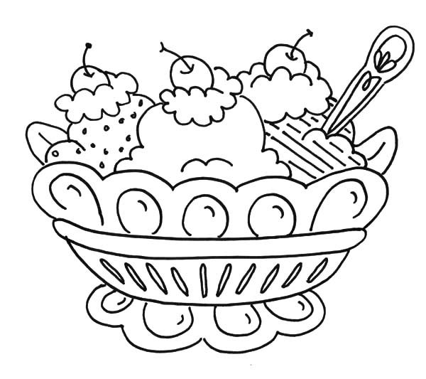 banana split coloring page banana split coloring page woo jr kids activities page coloring banana split