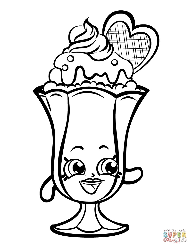 banana split coloring page banana split drawing at getdrawings free download banana split page coloring