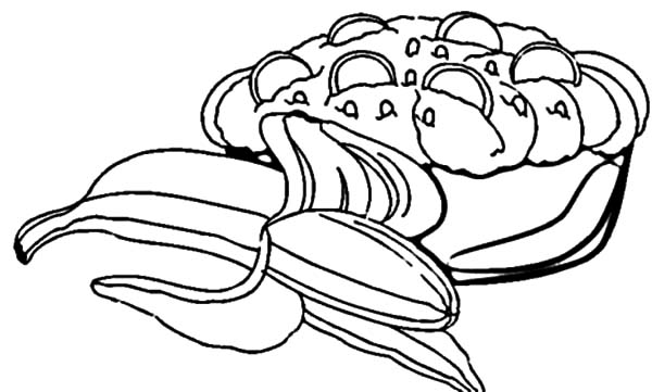 banana split coloring page banana split with fruity topping coloring pages best page split banana coloring