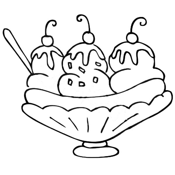 banana split coloring page delicious banana split coloring pages best place to color banana split page coloring