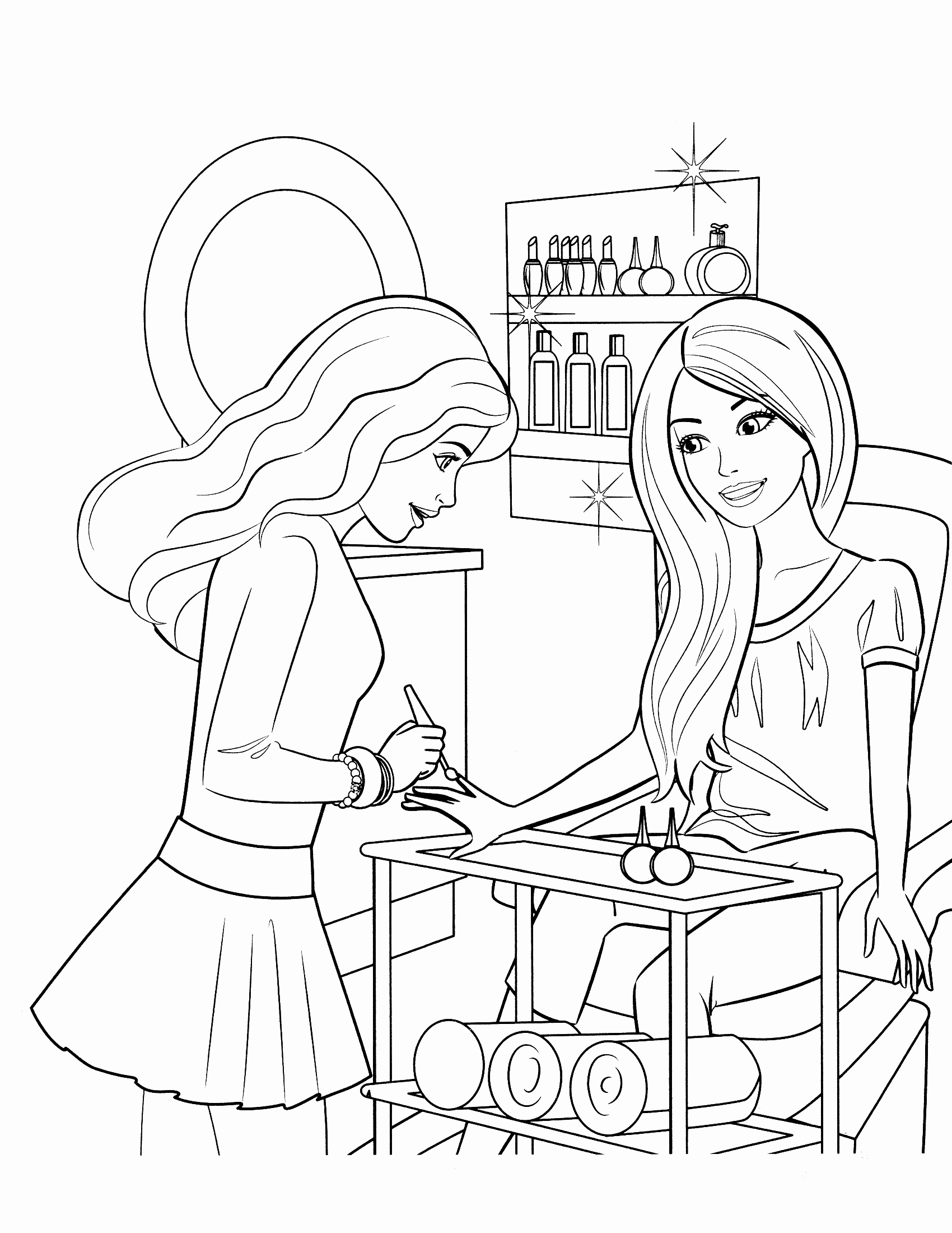 barbie and ken coloring sheets barbie and ken coloring pages download and print barbie ken and coloring barbie sheets