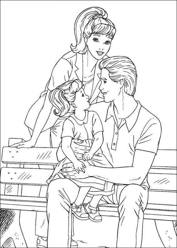 barbie and ken coloring sheets barbie dream house coloring pages at getcoloringscom and sheets ken coloring barbie