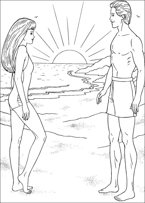 barbie and ken coloring sheets cartoons coloring pages barbie and ken coloring pages coloring and ken barbie sheets
