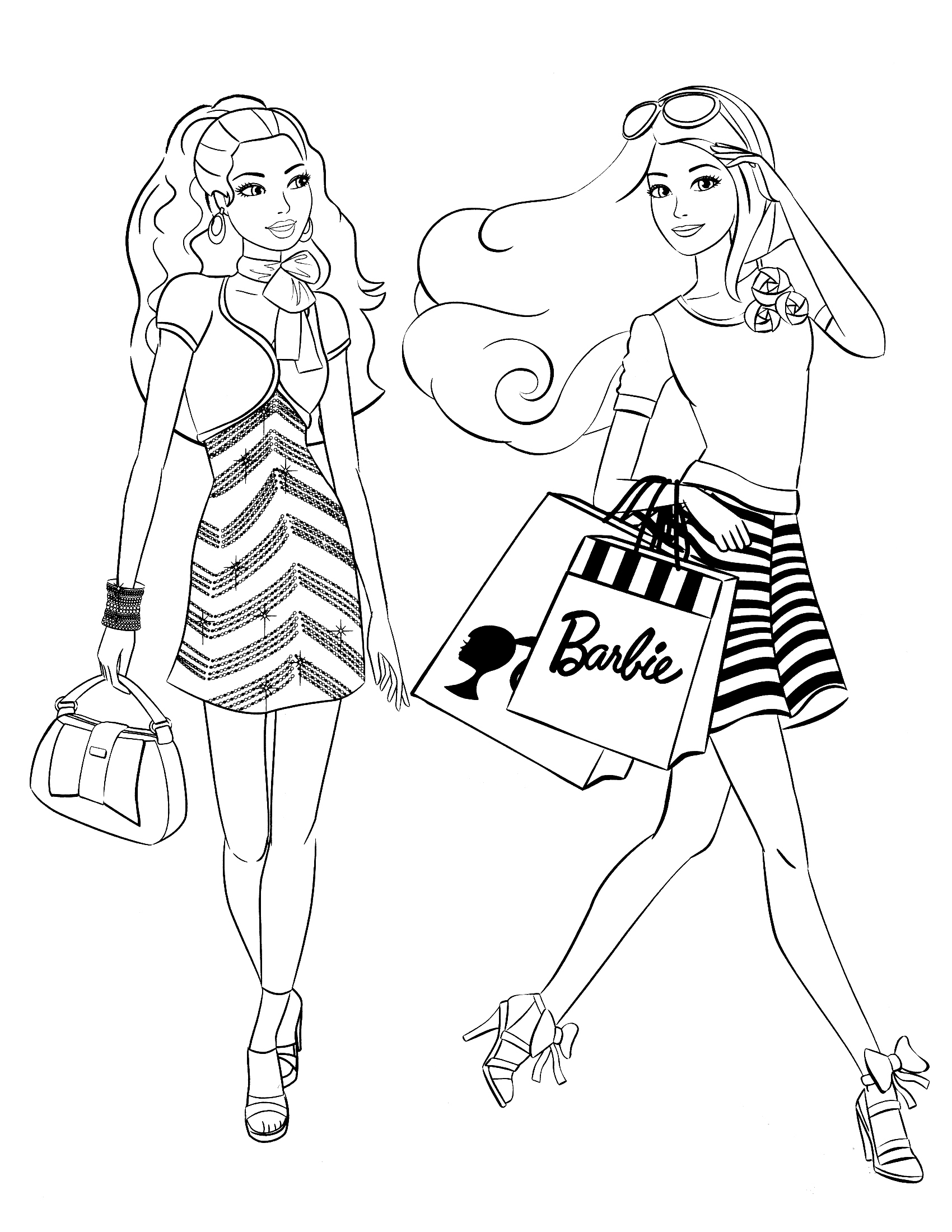 barbie coloring book 40 barbie coloring pages for kids barbie coloring book 1 1