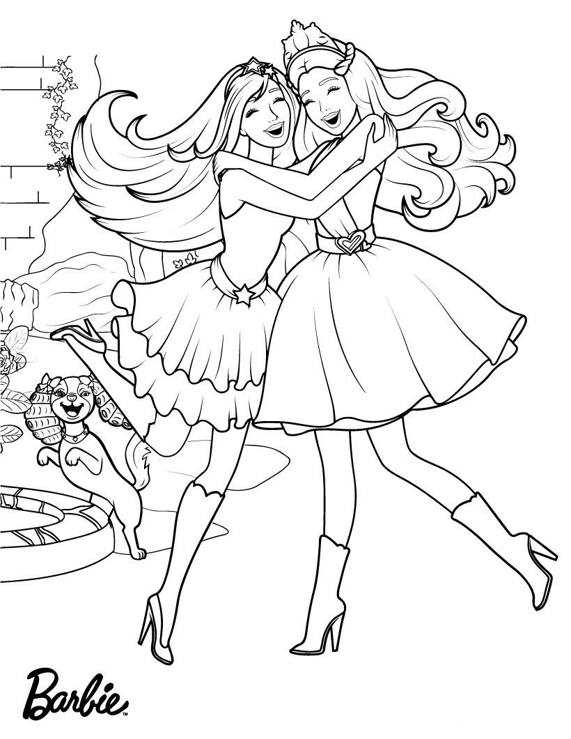 barbie coloring book 85 barbie coloring pages for girls barbie princess coloring book barbie