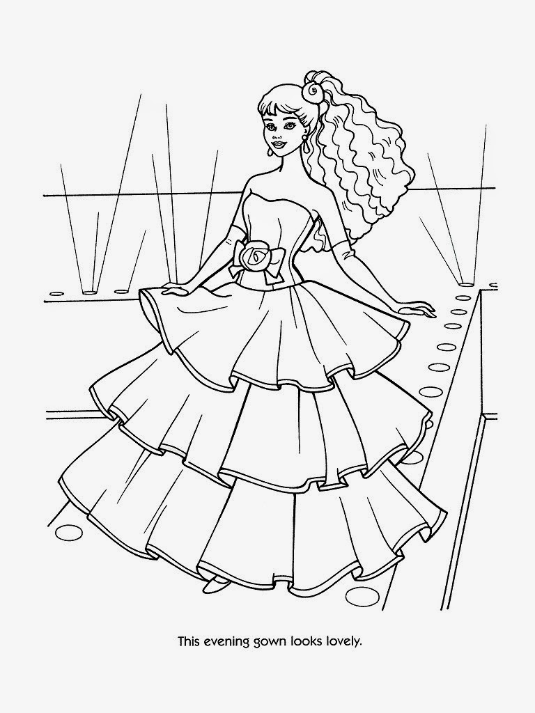 barbie coloring book barbie 20 coloringcolorcom barbie coloring book