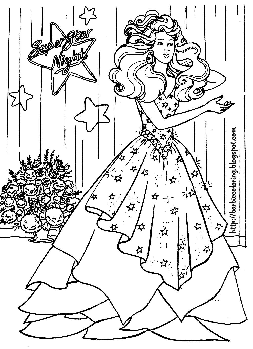 barbie coloring book barbie coloring pages barbie bride and barbie superstar barbie coloring book