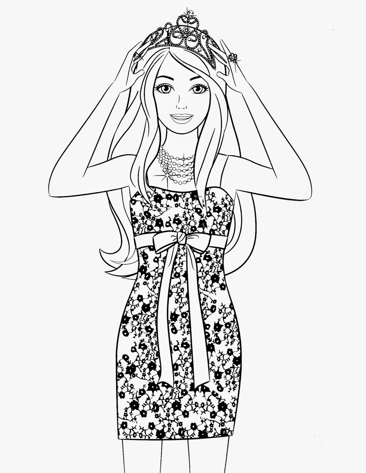 barbie coloring book barbie princess coloring pages best coloring pages for kids barbie coloring book