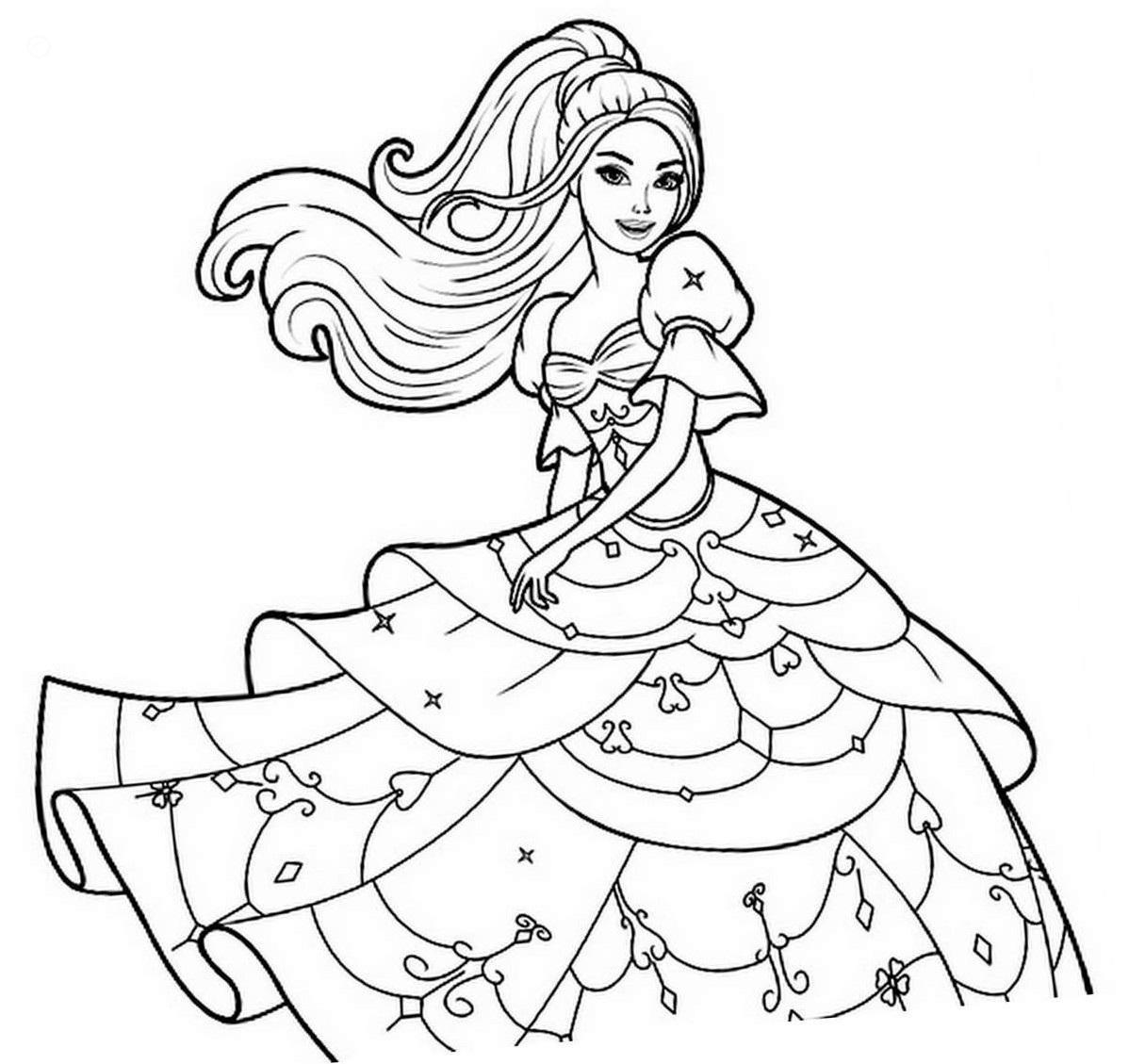 barbie coloring book coloring pages barbie free printable coloring pages book coloring barbie 1 1