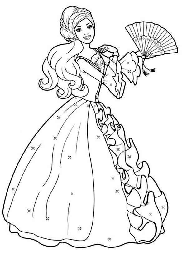 barbie doll colouring 20 barbie coloring pages doc pdf png jpeg eps barbie colouring doll