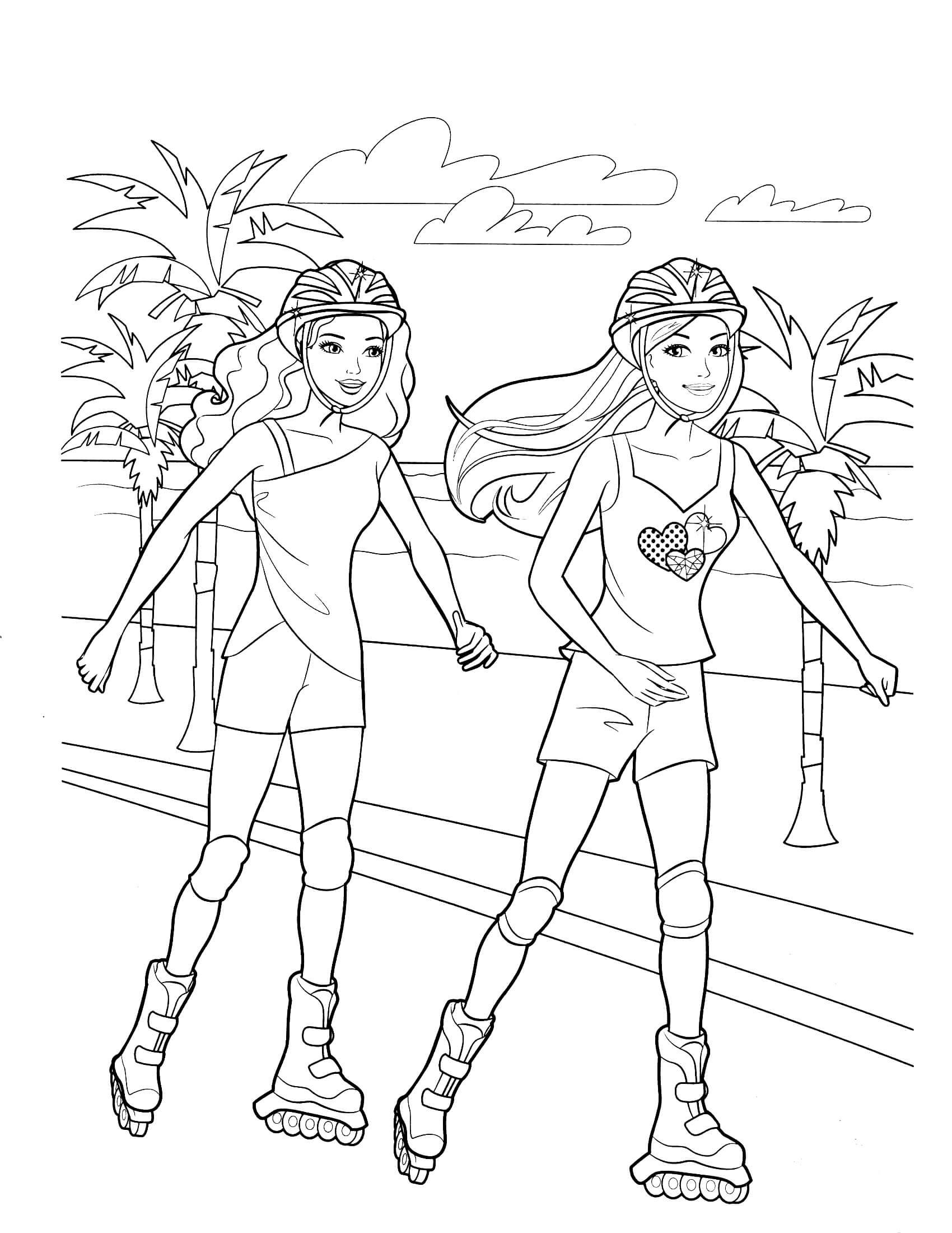 barbie doll colouring barbie doll coloring pages coloring home colouring barbie doll 1 1