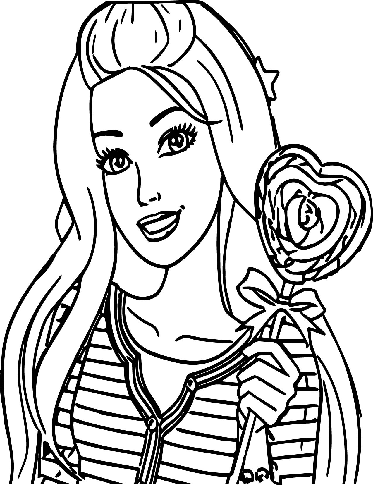 barbie doll colouring barbie doll coloring pages coloring home doll colouring barbie