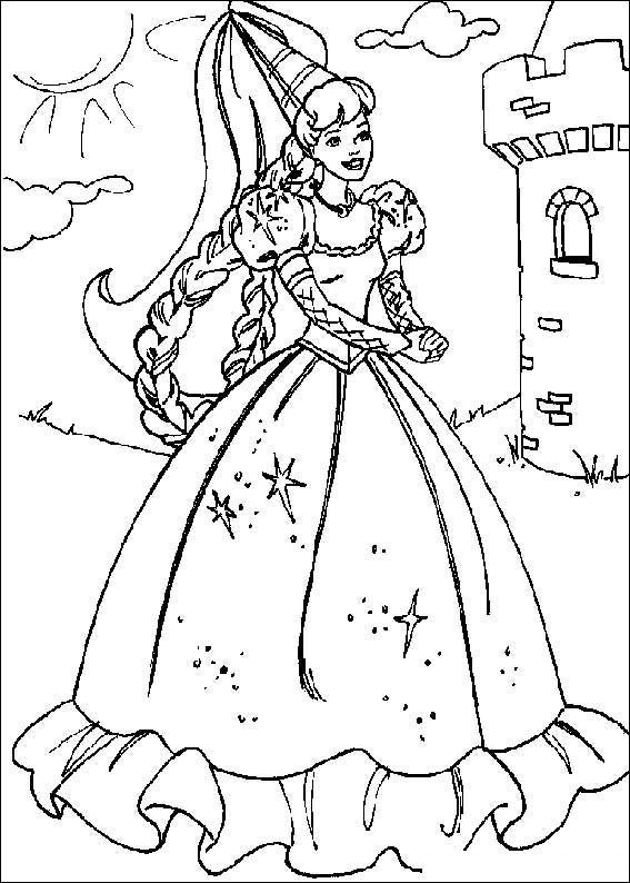 barbie doll colouring coloring barbie coloring pages for kids doll barbie colouring